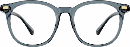 Gray Square Glasses