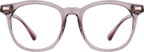 Mauve Square Glasses