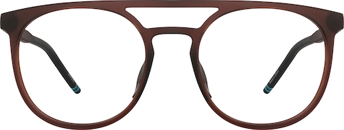 Brown Aviator Glasses
