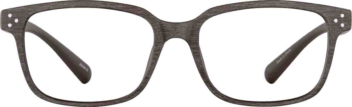 Brown Mesquite Rectangle Glasses