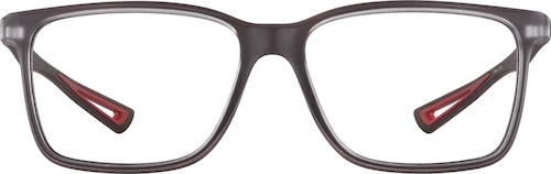 Dark Gray Square Glasses