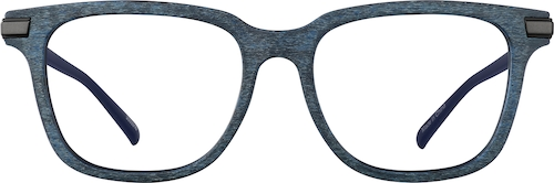 Slate Square Glasses