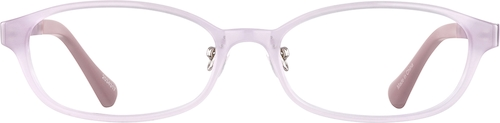 Purple/ Green Glow Kids' Glow-in-the-Dark Oval Glasses