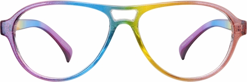 Rainbow Aviator Glasses