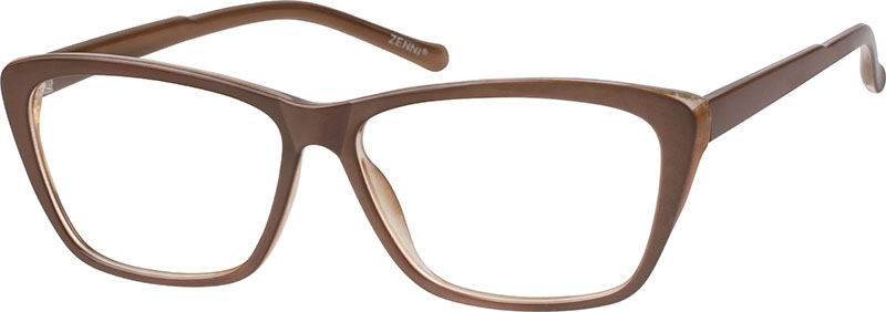 23d5963730 Brown Cat-Eye Glasses  206515