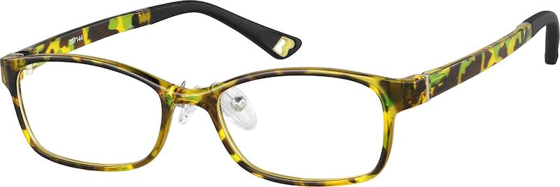 348fefb72fd Kids  Rectangle Glasses 207144. Previous. sku-207144 eyeglasses angle view  ...