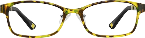 Pattern Kids' Rectangle Glasses