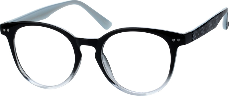 240fe2609ce Black Round Glasses  208421