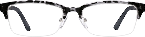 Black Browline Glasses