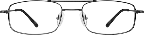 Gray Aviator Glasses