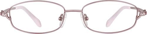 Pink Oval Glasses