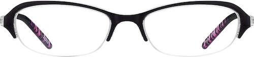 Black Oval Glasses