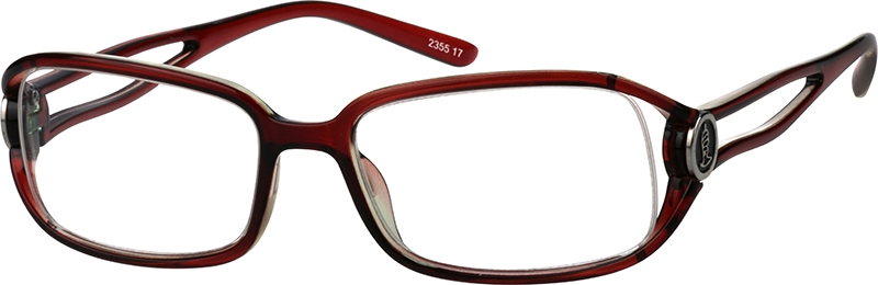 0b63285475 Brown Rectangle Glasses  235517
