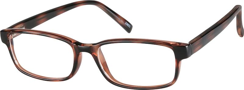 af9abb00845 Tortoiseshell Rectangle Glasses  238625
