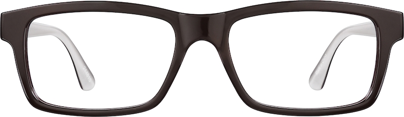 7200fd32720 Brown Rectangle Glasses  244815