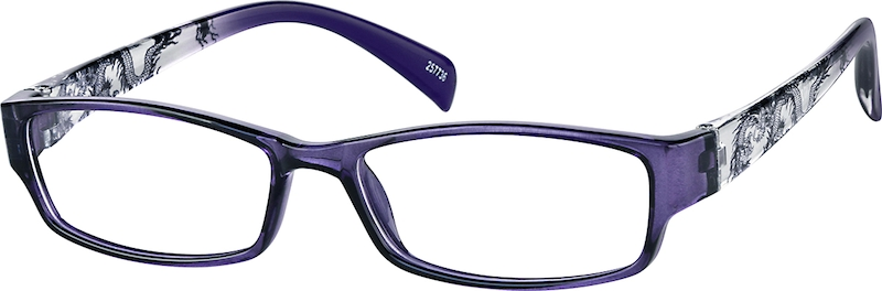 Purple Full Rim Plastic Frames #257736