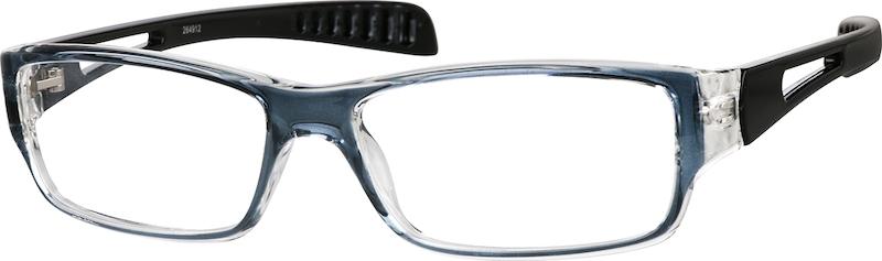 1d50e51895 Gray Rectangle Glasses  264912
