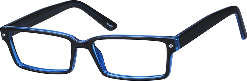 abfd7f77cf7d5 Blue Rectangle Glasses  278516