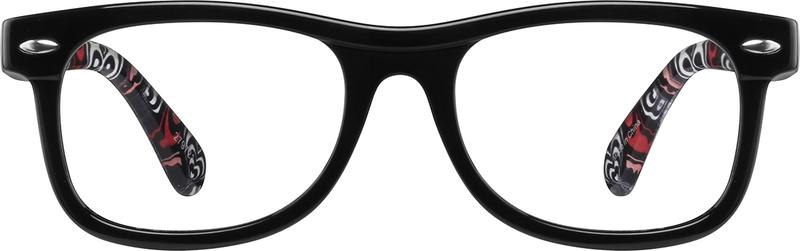 242b3ce3c8 Black Square Glasses  279721