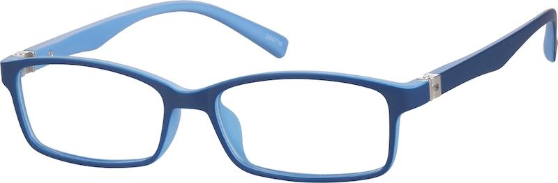 Blue Children\'s Flexible Plastic Frame With Spring Hinges #294716