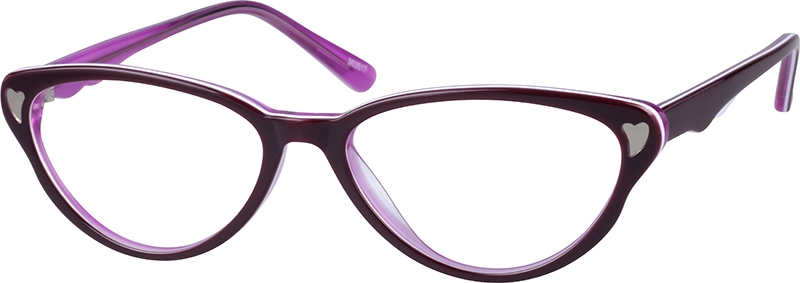c052458d88d2 Purple Cat-Eye Glasses  303517