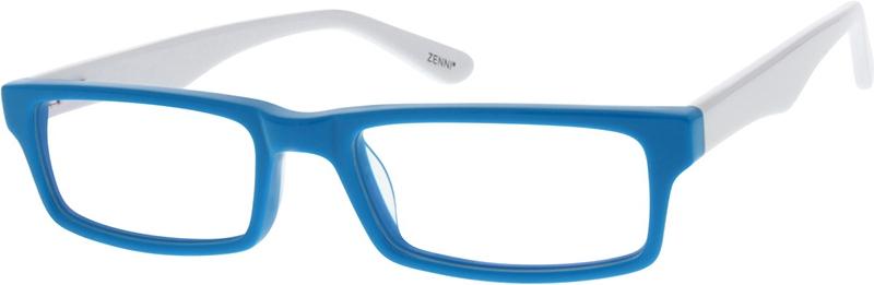 8f3f62ebef1 Blue Rectangle Glasses  306916