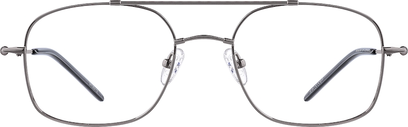 Gray Bendable (Memory) Titanium Full-Rim Frame. #312012