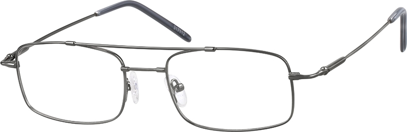 Gray Bendable (Memory) Titanium Full-Rim Frame #317112