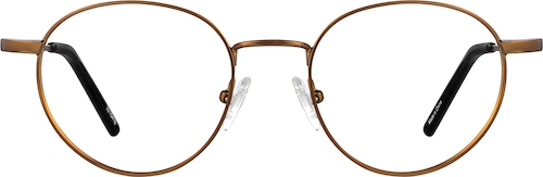 Copper Round Glasses