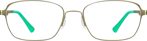 Olive Kids' Rectangle Glasses