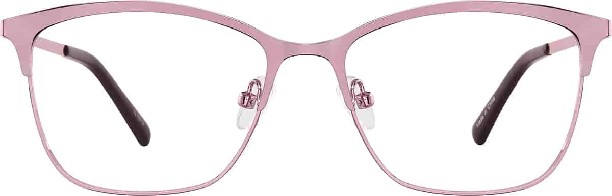 Rose Gold Square Glasses