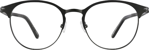 Black Round Glasses