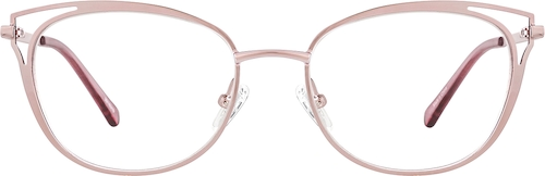 Rose Gold Oval Glasses