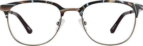 Desert Browline Glasses