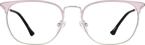 Pink Square Glasses
