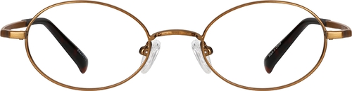 Copper Oval Glasses