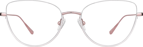 Pink Cat-Eye Glasses