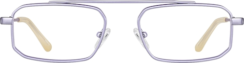 Metallic Lilac Aviator Glasses