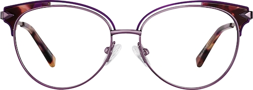 Pink Browline Glasses