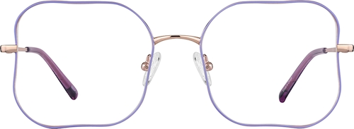Lavender Square Glasses