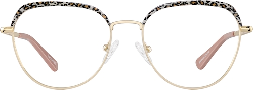 Yellow   Browline Glasses
