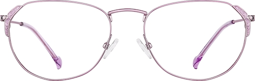 Lavender Oval Glasses