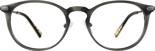 Gray Round Glasses
