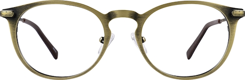 Gold Round Glasses
