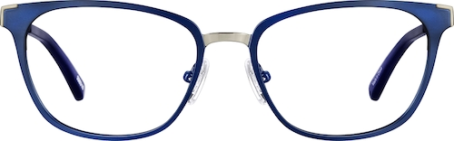 Navy Cat-Eye Glasses