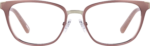Rose Gold Cat-Eye Glasses