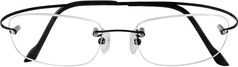 2308abc5473 Silver Titanium Rimless Glasses  372811