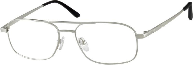 f7a1048cf6 Silver Titanium Aviator Glasses  373711