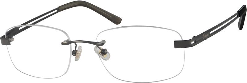 c7f8784a2c82 Gray Rimless Glasses #393212