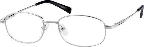 416211 Metal Alloy Full-Rim Frame with Spring Hinges